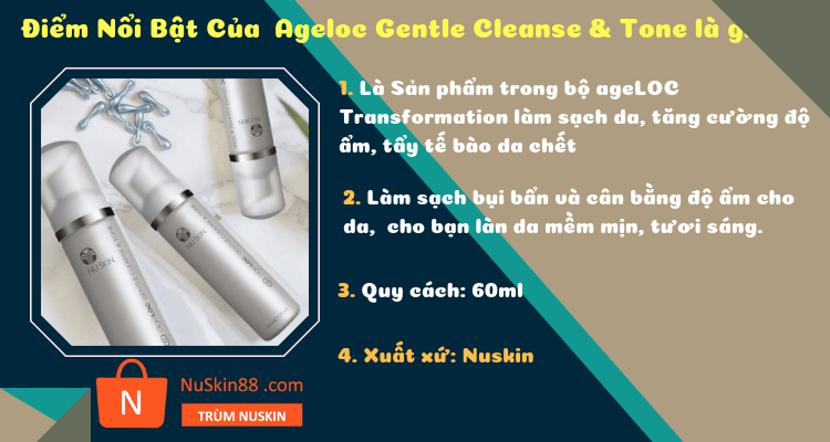 Ageloc Gentle Cleanse & Tone
