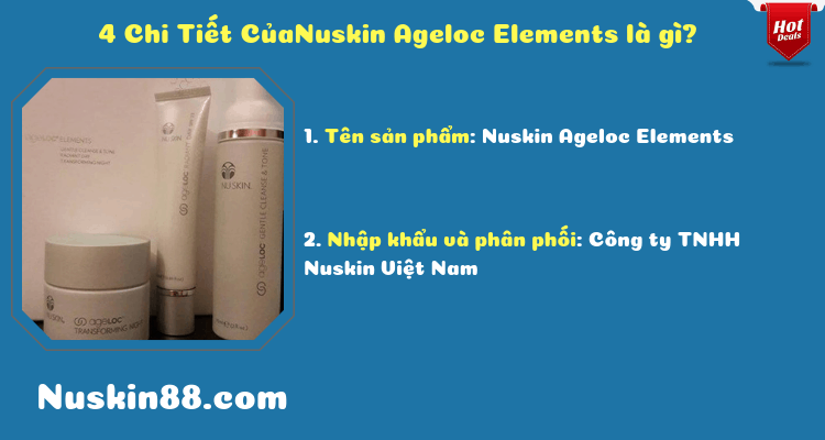 Nuskin Ageloc Elements3